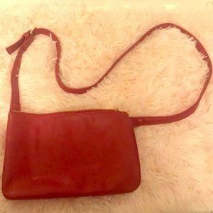 Handbags - SMALL RED CROSSBODY BAG